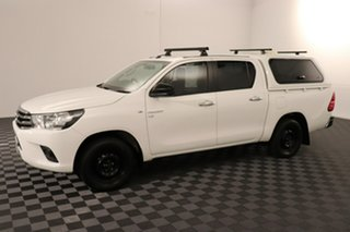 2016 Toyota Hilux GGN120R SR Double Cab 4x2 Glacier 6 speed Automatic Utility
