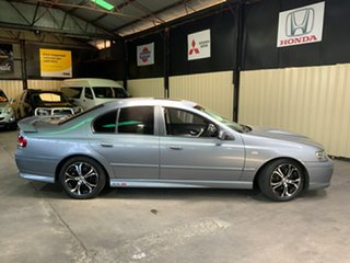2003 Ford Falcon BA XR8 Silver 4 Speed Sports Automatic Sedan.