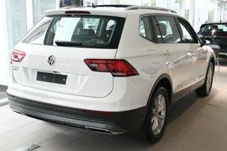 2020 Volkswagen Tiguan 5N MY20 110TSI Comfortline DSG 2WD Allspace White 6 Speed.