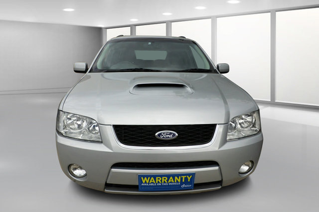 Used Ford Territory SY Turbo AWD Ghia West Footscray, 2008 Ford Territory SY Turbo AWD Ghia Silver 6 Speed Sports Automatic Wagon