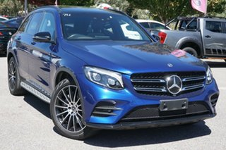 2018 Mercedes-Benz GLC-Class X253 808MY GLC350 d 9G-Tronic 4MATIC Blue 9 Speed Sports Automatic.