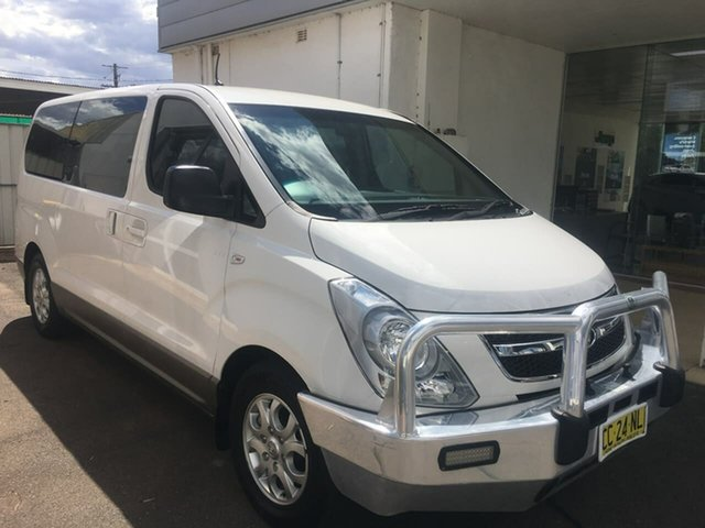Used Hyundai iMAX TQ-W Dubbo, 2015 Hyundai iMAX TQ-W White Automatic