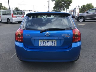 2006 Toyota Corolla ZZE122R 5Y Ascent Sport Blue 4 Speed Automatic Hatchback