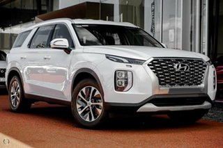 2021 Hyundai Palisade LX2.V1 MY21 AWD White Cream 8 Speed Sports Automatic Wagon.