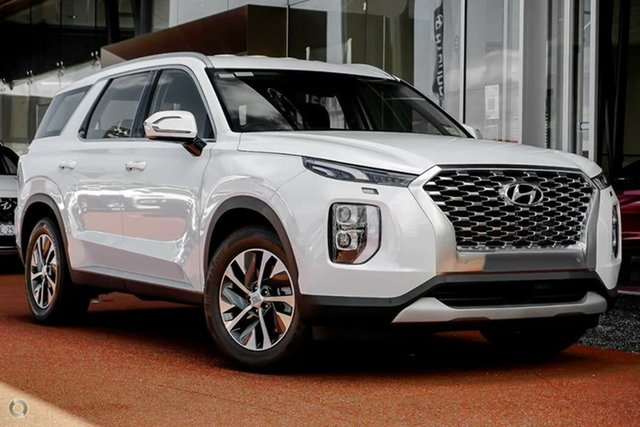 New Hyundai Palisade LX2.V1 MY21 AWD Nailsworth, 2021 Hyundai Palisade LX2.V1 MY21 AWD White Cream 8 Speed Sports Automatic Wagon