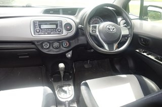 2012 Toyota Yaris NCP130R YR Silver 4 Speed Automatic Hatchback