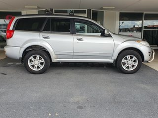 2012 Great Wall X200 K2 MY12 Silver 6 Speed Manual Wagon