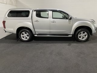2017 Isuzu D-MAX MY17 LS-U Crew Cab Silver 6 Speed Sports Automatic Utility.