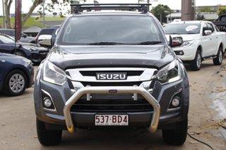 2018 Isuzu D-MAX MY18 LS-U Crew Cab Grey 6 Speed Sports Automatic Utility.