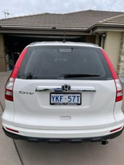 2010 Honda CR-V RE MY2010 Sport 4WD White 5 Speed Automatic Wagon