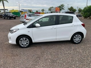 2015 Toyota Yaris YR White 4 Speed Auto Active Select Hatchback