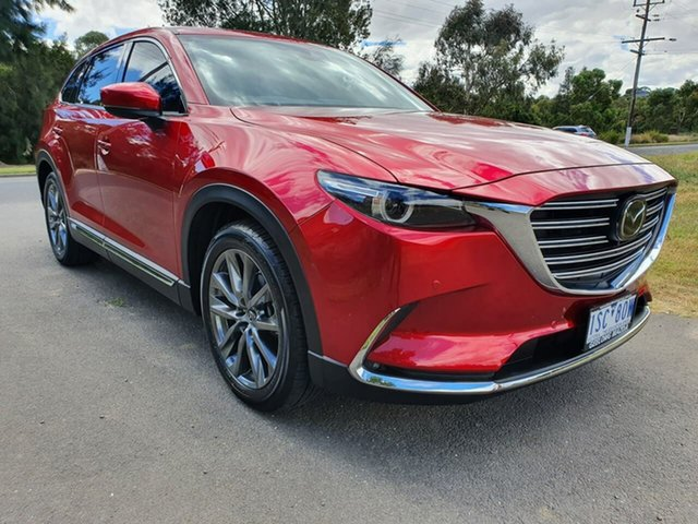 Used Mazda CX-9 TC Geelong, 2020 Mazda CX-9 TC Azami Red Sports Automatic Wagon