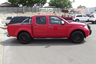 2014 Nissan Navara D40 S7 Titanium Red 6 Speed Manual Utility