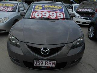2007 Mazda 3 BK10F2 Maxx Grey 5 Speed Manual Sedan.