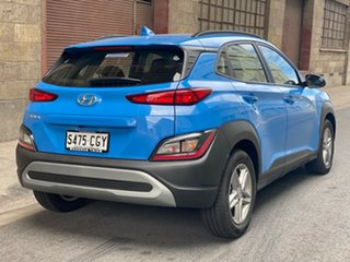 2020 Hyundai Kona Os.v4 MY21 2WD Surfy Blue 8 Speed Automatic Wagon.