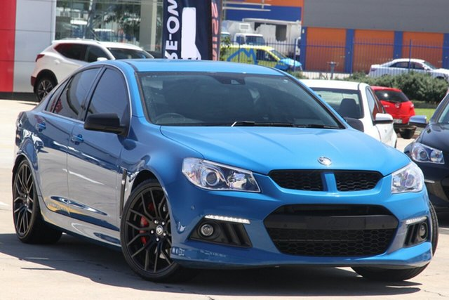 Used Holden Special Vehicles ClubSport Gen F MY15 R8 Chullora, 2015 Holden Special Vehicles ClubSport Gen F MY15 R8 Blue 6 Speed Manual Sedan