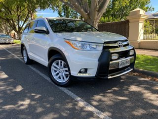 2015 Toyota Kluger GSU55R GX AWD White 6 Speed Sports Automatic Wagon.