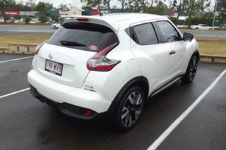 2016 Nissan Juke F15 Series 2 Ti-S X-tronic AWD N-SPORT White 1 Speed Constant Variable Hatchback.