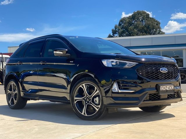 Used Ford Endura ST-Line Goulburn, 2019 Ford Endura ST-Line Agate Black Sports Automatic Wagon
