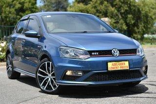 2017 Volkswagen Polo 6R MY17 GTI DSG Blue 7 Speed Sports Automatic Dual Clutch Hatchback.