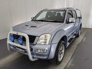 2003 Holden Rodeo RA LT Crew Cab 4x2 Grey 4 Speed Automatic Utility.