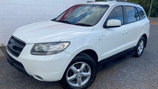 2007 Hyundai Santa Fe CM MY07 Upgrade SLX White Automatic Wagon.