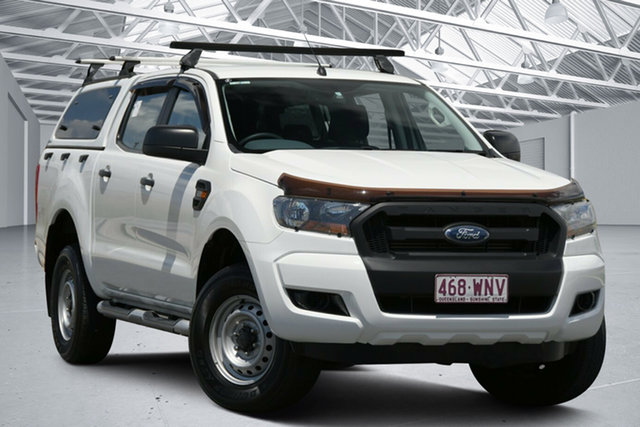 Used Ford Ranger PX MkII XL 3.2 (4x4) Eagle Farm, 2016 Ford Ranger PX MkII XL 3.2 (4x4) White 6 Speed Automatic Crew Cab Utility