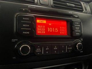 2013 Kia Rio UB MY14 S Silver 4 Speed Automatic Hatchback