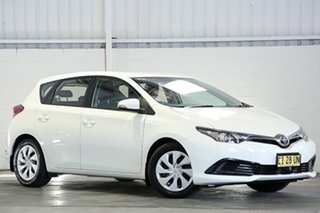 2016 Toyota Corolla ZRE182R Ascent S-CVT White 7 Speed Constant Variable Hatchback.