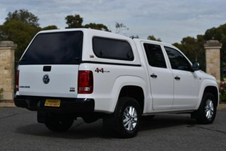 2015 Volkswagen Amarok 2H MY16 TDI420 4MOTION Perm Core White 8 Speed Automatic Utility