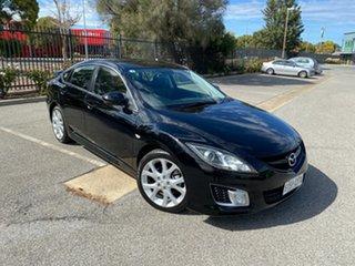 2008 Mazda 6 GH1051 Luxury Sports Black 5 Speed Sports Automatic Hatchback.