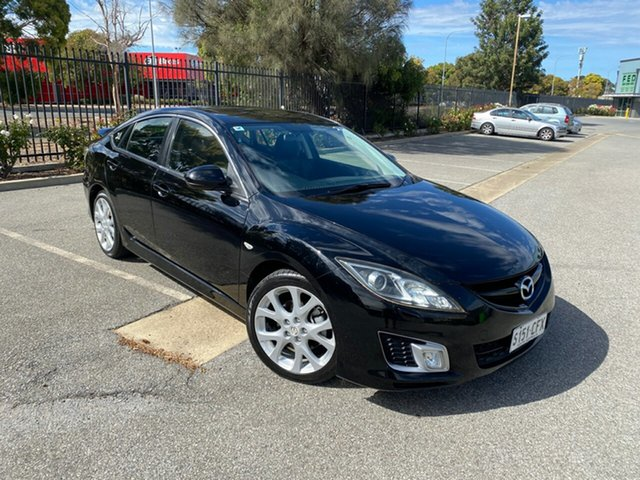 Used Mazda 6 GH1051 Luxury Sports Mile End, 2008 Mazda 6 GH1051 Luxury Sports Black 5 Speed Sports Automatic Hatchback