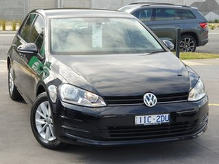2016 Volkswagen Golf VII MY17 92TSI DSG Trendline Black 7 Speed Sports Automatic Dual Clutch.
