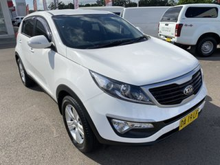 2013 Kia Sportage SL MY13 SI White 6 Speed Sports Automatic Wagon.