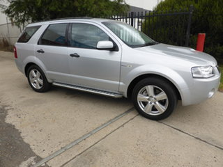 2008 Ford Territory SY Turbo AWD Ghia Silver 6 Speed Sports Automatic Wagon.