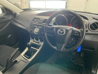 2009 Mazda 3 BL Neo White 6 Speed Manual Sedan