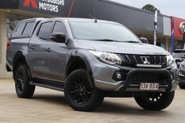 Used Mitsubishi Triton MQ MY18 GLS Double Cab Toowoomba, 2018 Mitsubishi Triton MQ MY18 GLS Double Cab Grey 5 Speed Sports Automatic Utility