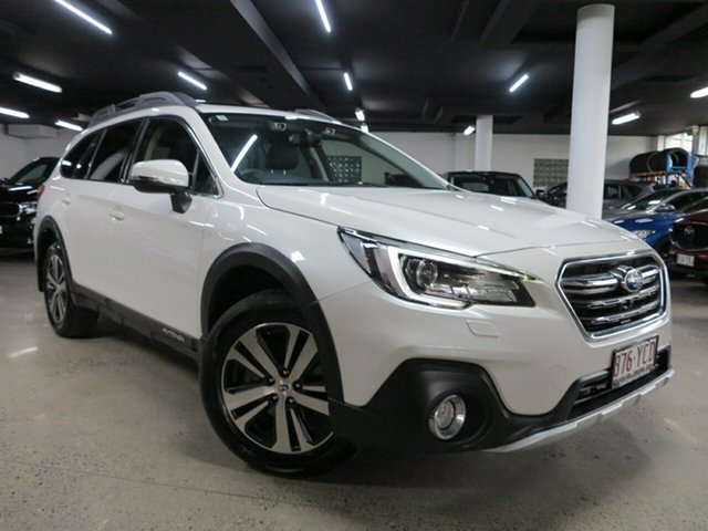 Used Subaru Outback B6A MY18 2.5i CVT AWD Premium Albion, 2018 Subaru Outback B6A MY18 2.5i CVT AWD Premium Pearl White 7 Speed Constant Variable Wagon