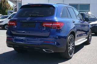 2018 Mercedes-Benz GLC-Class X253 808MY GLC350 d 9G-Tronic 4MATIC Blue 9 Speed Sports Automatic