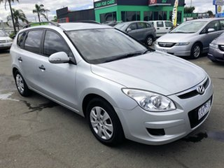 2010 Hyundai i30 FD MY10 CW SX 2.0 Silver 4 Speed Automatic Wagon.