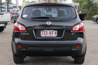 2013 Nissan Dualis J10W Series 4 MY13 ST Hatch 2WD Black 6 Speed Manual Hatchback