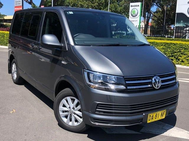 Used Volkswagen Multivan T6 MY18 TDI340 SWB DSG Comfortline Botany, 2018 Volkswagen Multivan T6 MY18 TDI340 SWB DSG Comfortline Grey 7 Speed