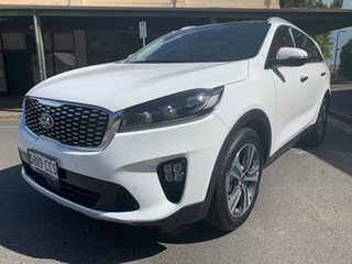 2019 Kia Sorento UM MY20 GT-Line Clear White 8 Speed Sports Automatic Wagon