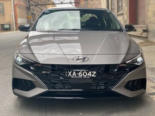 2020 Hyundai i30 CN7.V1 MY21 N Line D-CT Premium Fluid Metal 7 Speed Automatic Sedan