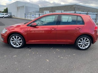 2013 Volkswagen Golf VII 110TDI DSG Highline Red 6 Speed Sports Automatic Dual Clutch Hatchback