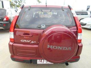 2005 Honda CR-V RD MY2005 Sport 4WD Maroon 5 Speed Automatic Wagon