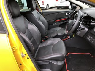 2014 Renault Clio IV B98 R.S. 200 EDC Sport Yellow 6 Speed Sports Automatic Dual Clutch Hatchback