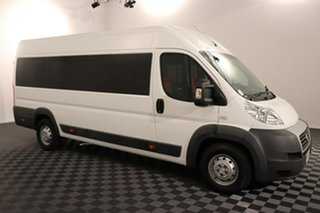2013 Fiat Ducato Series II MY12 Mid Roof XLWB MTA White 6 speed Automatic Van