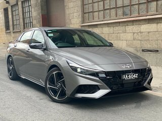 2020 Hyundai i30 CN7.V1 MY21 N Line D-CT Premium Fluid Metal 7 Speed Automatic Sedan.