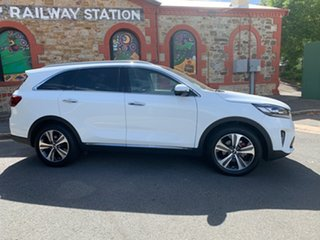 2019 Kia Sorento UM MY20 GT-Line Clear White 8 Speed Sports Automatic Wagon.